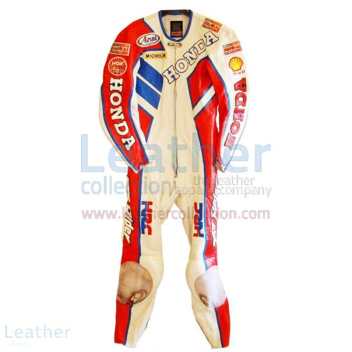 Freddie Spencer Nankai Honda GP 1987 Leathers front